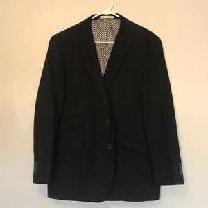 Mens XL Joseph Abbound black tweed sports coat